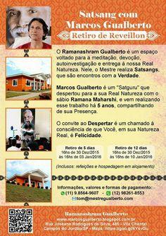 Retiro de Reveillon - Satsang com Mestre Gualberto @marcosgualberto @tomdeaquino