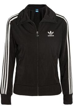 adidas Originals Firebird satin-jersey jacket NET-A-PORTER.COM
