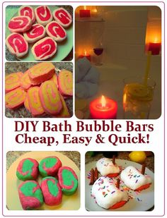 DIY Bubble Bars Recipe, How to Make SPA Products CHEAP, EASY & QUICK! Homemade Gift Idea for Saint Valentine's Day, Birthday, Mother's Day or Christmas.