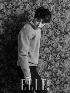 EXO's D.O for ELLE Magazine - December 2014