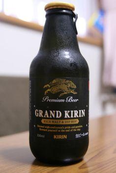 Proper Japanese beer.