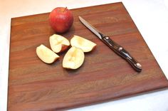 a cutting board from scrap hardwood flooring. a brilliant project from @OneProjCloser