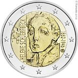 2 euro 150th Anniversary of the Birth of Helene Schjerfbeck - 2012 - Series: Commemorative 2 euro coins - Finland