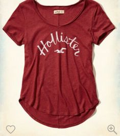 Red Hollister Shirt