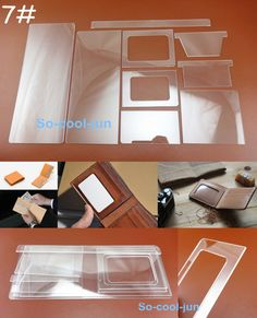 9pc Leather Craft Acrylic Perspex Short Wallet Pattern Stencil Template Tool Set FOR SALE • $13.99 • See Photos! Money Back Guarantee. MicrosoftInternetExplorer402DocumentNotSpecified7.8 磅Normal09pcs Leather Craft Acrylic Perspex Short Wallet Pattern Stencil Template Tool Set MicrosoftInternetExplorer402DocumentNotSpecified7.8 磅Normal0 We sell only high quality tools!Excellent price!Excellent quality!Equal to or better than similar store brand-name!Material: 322495374217