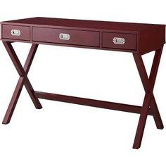 Writing Desk: Threshold Campaign Desk - Salsa Red