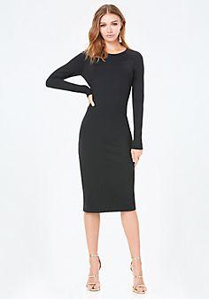 Bodycon+Midi+Dress - no Larges left. :(