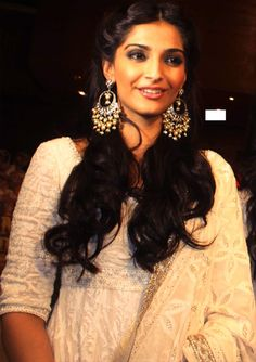 earrings with deepika necklace..