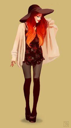 Manga Character Drawing The Art Of Animation, Julia Blattman - AquaJ - Art Et Illustration, Character Illustration, Anime Pokemon, Arte Fashion, Girl Fashion, Character Drawing, Character Design Inspiration, Looks Cool, Female Characters
