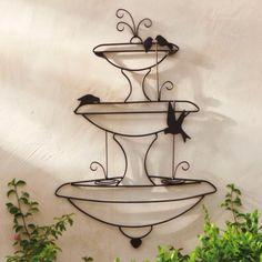 Birds in a Fountain Wall Art | Grandin Road