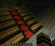 Minecraft movie theater seating                              …