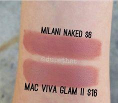 Milani matte naked