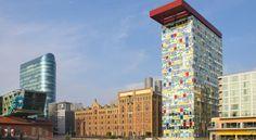 泊ってみたいホテル・HOTEL|ドイツ>デュッセルドルフ>ライン川の川岸にある4つ星ホテル>インサイド バイ メリア デュッセルドルフ ハーフェン(Innside by Meliá Düsseldorf Hafen)