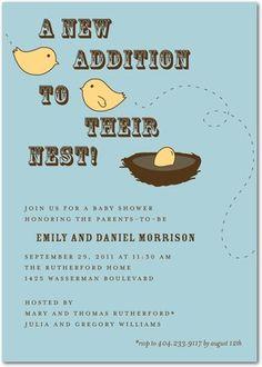 invitation - would be cute for @Lauren Davison Davison Cory one day :)