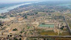 Vista aérea de Karnak