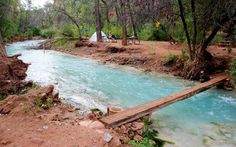 Arizona —Havasupai Campground, Havasupai Reservation