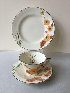 pattern is number Bamboo. Chocolate Pots, Tea Cup Saucer, Teacups, Tea Set, Tea Time, Bamboo, Clay, Pottery, Number
