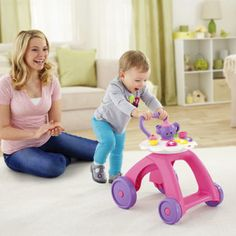 Check out the Laugh & Learn Smart Stages Tea Cart Walker at the official Fisher-Price website. Explore all our Laugh & Learn toys, playsets and accessories today! Baby Play, Baby Toys, Tea Cart, Educational Games, Learning Games, Baby Shop, Children, Kids, Baby Strollers