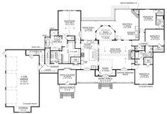 This farmhouse design floor plan is 3095 sq ft and has 4 bedrooms and has 3.5 bathrooms. Modern Farmhouse Plans, Farmhouse Design, Country Farmhouse, Farmhouse Homes, Madden Home Design, Farmhouse Flooring, Jack And Jill Bathroom, Beautiful Farm, Flex Room