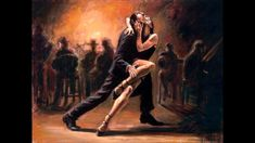 Fabian Perez Tango painting is shipped worldwide,including stretched canvas and framed art.This Fabian Perez Tango painting is available at custom size. Fabian Perez, Shall We Dance, Just Dance, Bar Dance, Tango Art, Dance Paintings, Argentine Tango, Salsa Dancing, Ballroom Dancing