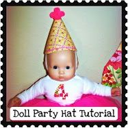 Baby Doll Tea Party Hats