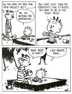 Calvin has a point...again