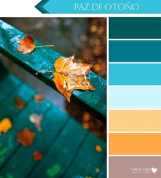 6 Color Palettes for Fall, because Fall also has a Rainbow of Beautiful Colors - 6 Color Palettes for Fall, because Fall also has a beautiful Rainbow of Colors! Color Schemes Colour Palettes, Colour Pallette, Color Combos, Room Colors, Paint Colors, Colours, Pantone, Color Balance, Colour Board
