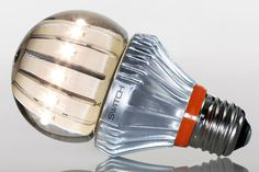 Reinventing the light bulb. The Switch LED light bulb is 80% more energy efficient than conventional incandescents and doesn't contain mercury.