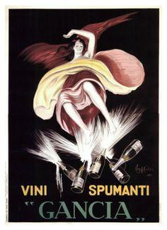Manifesto Vintage Vini Spumanti Gancia