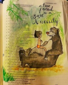 Proverbs 18: 24 A friend who sticks closer than a brother. #biblejournaling…