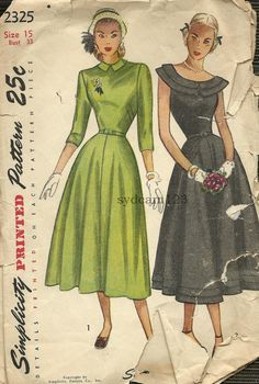 Vintage 1948 Double Bertha Collar or Small Flat by sydcam123, $14.00