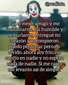 Joker Frases, Spanish Inspirational Quotes, Happy Love, Harley Quinn, Dc Comics, My Life, Life Quotes, Sad, Marketing