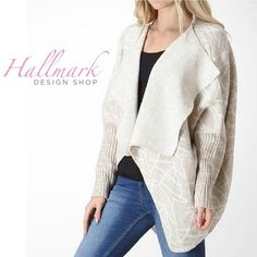 PREORDER NOW Asymmetric Open Cardigan I will have this is S, M, and L! Preorder now by purchasing this listing and specifying size in the comments. I should have these in by end of the week. I will send them out same day received. I'm obsessed with this sweater! Moon Collection Sweaters