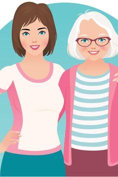 Estudo alerta: quanto menos você interagir com seus pais, menos tempo de vida eles terão