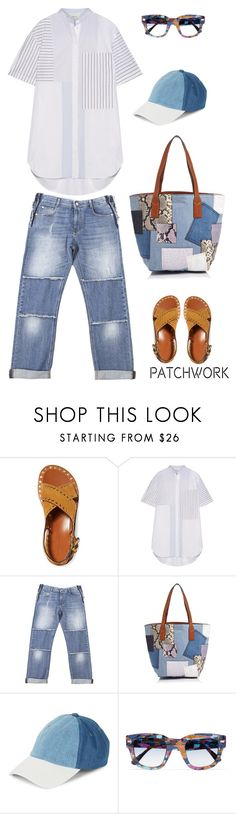 """""""Patchwork"""" by musicfriend1 on Polyvore featuring Isabel Marant, 3.1 Phillip Lim, STELLA McCARTNEY, Marc Jacobs, Steve Madden, Acne Studios, lovethis, patchwork and staycation"""