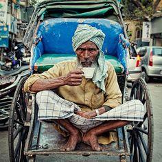 A cup of chai. Calcutta.