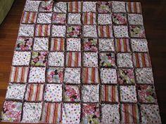 Napravi pačvork prekrivač/How to easy rugg quilt