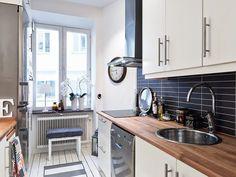 http://www.bebarang.com/awesome-design-scandinavian-kitchen-design/ Awesome Design, Scandinavian Kitchen Design : Cool Black Tiles For Kitchen Scandinavian Kitchen Design