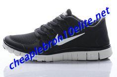 Black Nike Free 5.0 Womens Silver