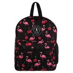 Brighten up your training and travels with Moai Tiki, an exotic treat of a backpack that coordinates with our SS19 activewear. Fabulous flamingos and juicy cherries create a quirky summer design in true Tikiboo style.  Roomy and robust, fill this gorgeous rucksack with all your kit including a towel, trainers and clothes. Whether you're off to yoga or off on vacay, adjustable double straps make this bag convenient as well as glam. Gym Bags, Summer Design, Cherries, Fashion Backpack, Activewear, Trainers, Fill, Exotic, Towel