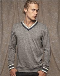 Alternative 9594 Eco Cashmere V-Neck Sweathshirt is so soft to wear for men