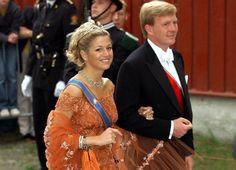 Máxima con el mismo vestido en la boda de Marta Luisa (Gtres)