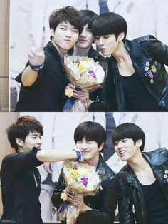 Woohyun, Sungjong and Sungyeol [Infinite]
