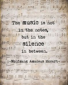 Wahre Worte inspiration Mozart Music Quote Musical Notes Vintage Style Sepia Natural For the Musician Typography Word Art Print, Unframed Word Art, Musica Celestial, Music Lyrics, Music Music, Music Notes Art, Music Lovers, Music Is Life, Musicals, Inspirational Quotes