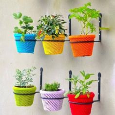 Best Plant Containers for Small Spaces | Magnetic wall, Container ...