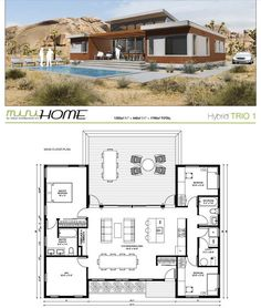House Plans in Modern Architecture. Best House Plans, Dream House Plans, Modern House Plans, Small House Plans, House Floor Plans, Container House Plans, Container House Design, Small House Design, Modern House Design
