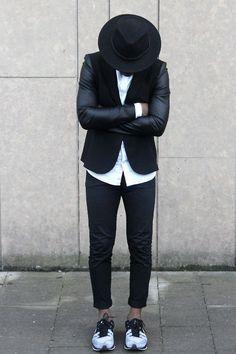bold // menswear, mens style, fashion, jacket, blazer, sneakers, hat, street style