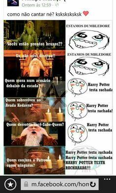Harry Potter testa r Harry Potter Tumblr, Harry Potter Anime, Harry Potter Fan Art, Harry Potter Universal, Harry Potter Memes, Hogwarts, Best Memes, Funny Memes, Nerd