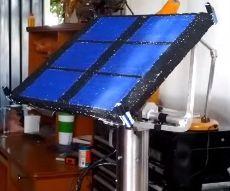 Seguidor Solar con motores a paso + Arduino