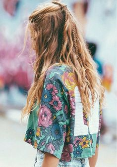 Summer Braids Beach Hair Natural Waves Long Blonde Boho Festival Messy Manes Free your Wild See more Untamed DIY Simple Easy Hairstyle Tutorials Inspiration untamedmama click now to see more. Moda Hippie, Moda Boho, Small Braids, Braids For Long Hair, Summer Braids, Messy Braids, Braid Bangs, Wavy Hair, Messy Ponytail
